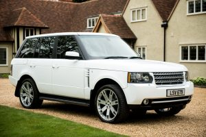 2010 Range Rover Vogue SE in White Wrap