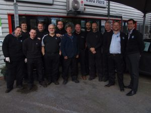 Image of everyone on the Wallis Rentals team.
