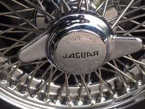 Jaguar Mk2 wire Chrome Wheel