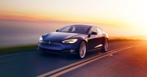 Tesla Model S on the road.... is this the future of cars