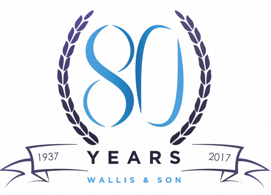 Wallis and son, 80 years in the motor trade.