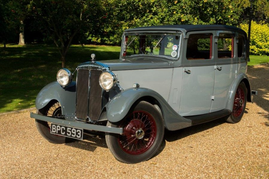 The history of Bentley motor cars