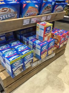 Pop tarts in american flavours