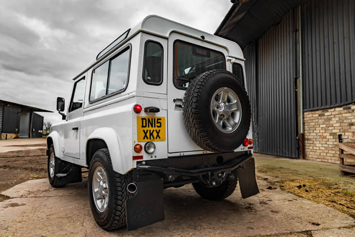 An image of a Land Rover Defender