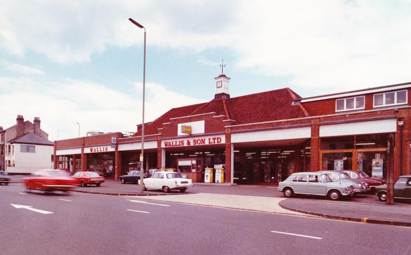 Image of the old Wallis & Son site.